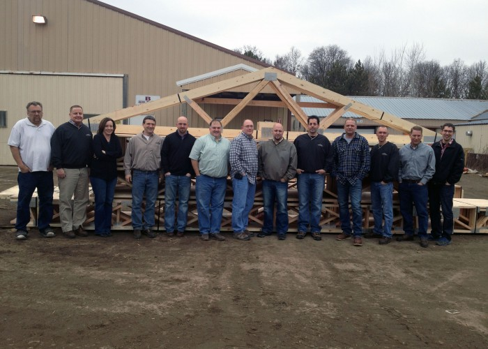 The friendly staff at P&M Truss, Inc.