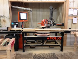 State of the Art Mango Apollo automated component saw